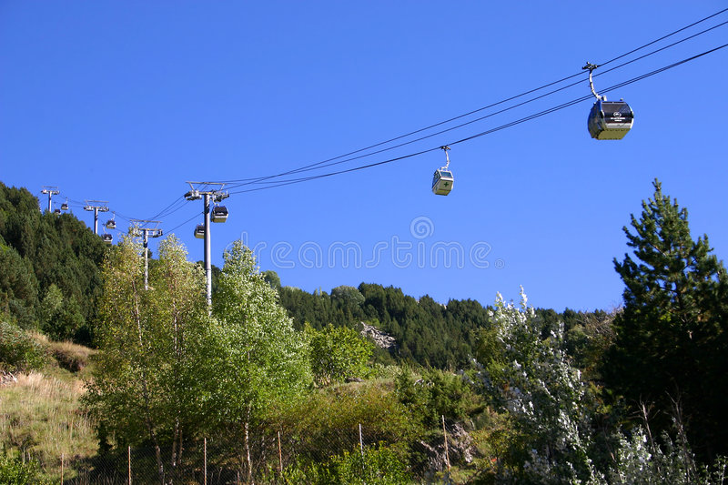 Funiculaire photo stock