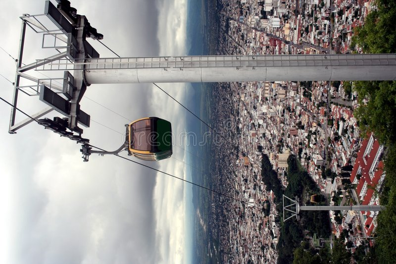 Funiculaire, Salta, Argentine photographie stock libre de droits