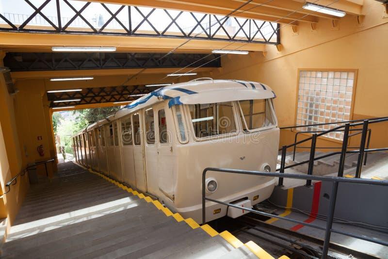 Funicular del Tibidabo στη Βαρκελώνη στοκ φωτογραφία με δικαίωμα ελεύθερης χρήσης