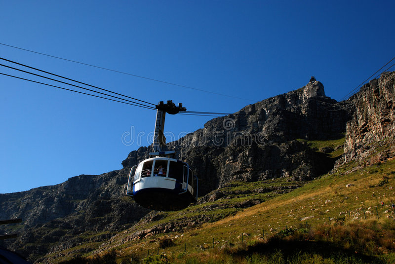 Download Funicular On Table Mountain(Capetown) Royalty Free Stock Images - Image: 4176949