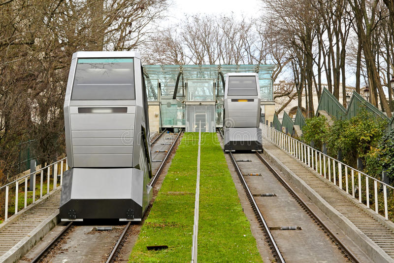 Funicular Transportation Stock Photos