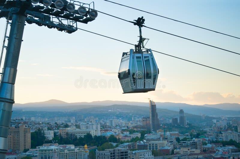 Funicular w Tbilisi, Gruzja zdjęcie stock
