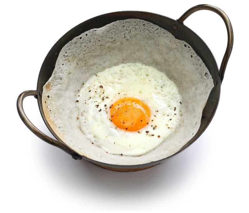 Funil cingalês do ovo imagem de stock