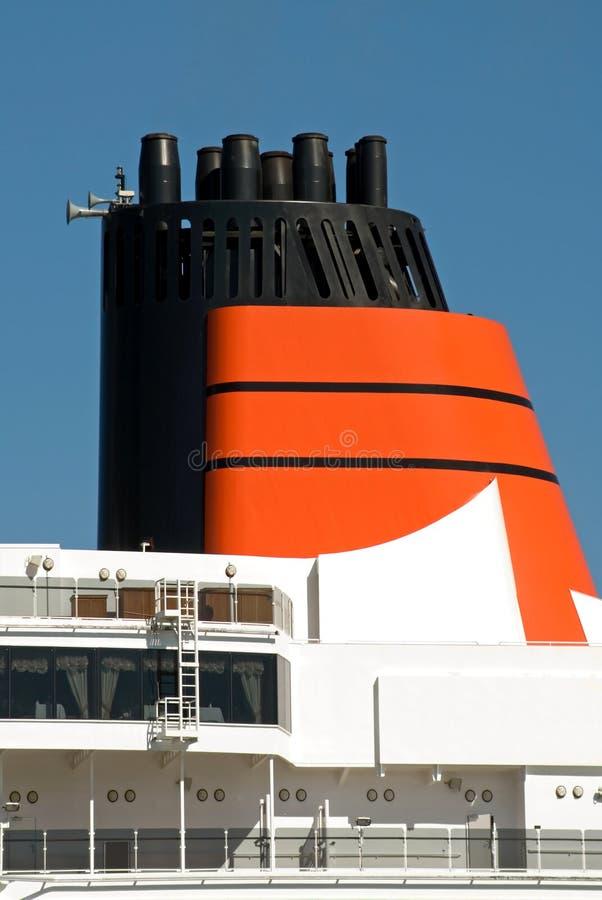 Funil do navio imagem de stock royalty free