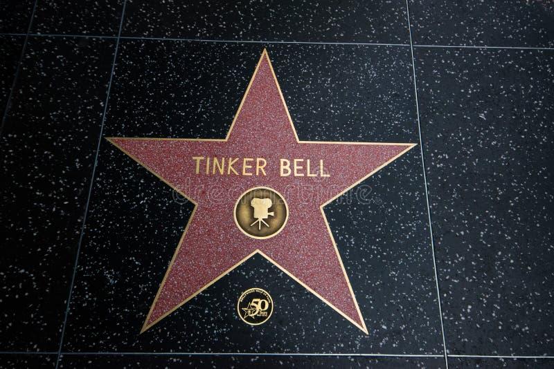 Funileiro Bell Walk da estrela da fama fotografia de stock royalty free