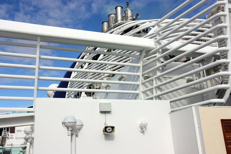 Funis do navio imagens de stock