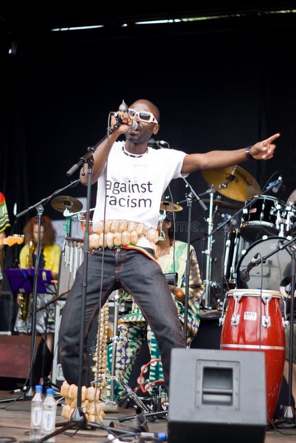 Funk de Yaaba no concerto. imagem de stock
