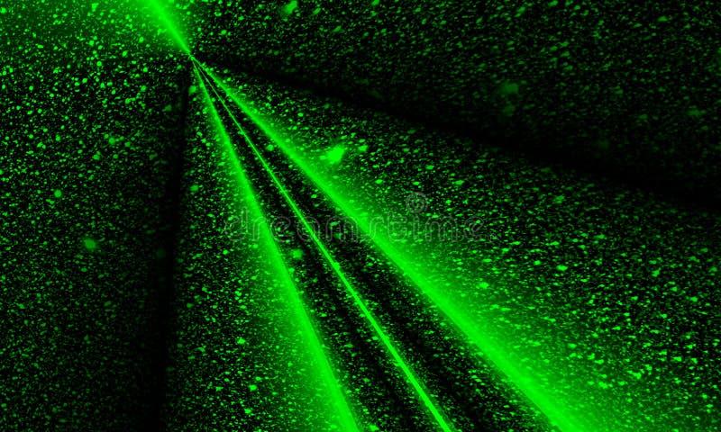 Funkeln strukturierte dunkle greenbackground Tapete lizenzfreie abbildung