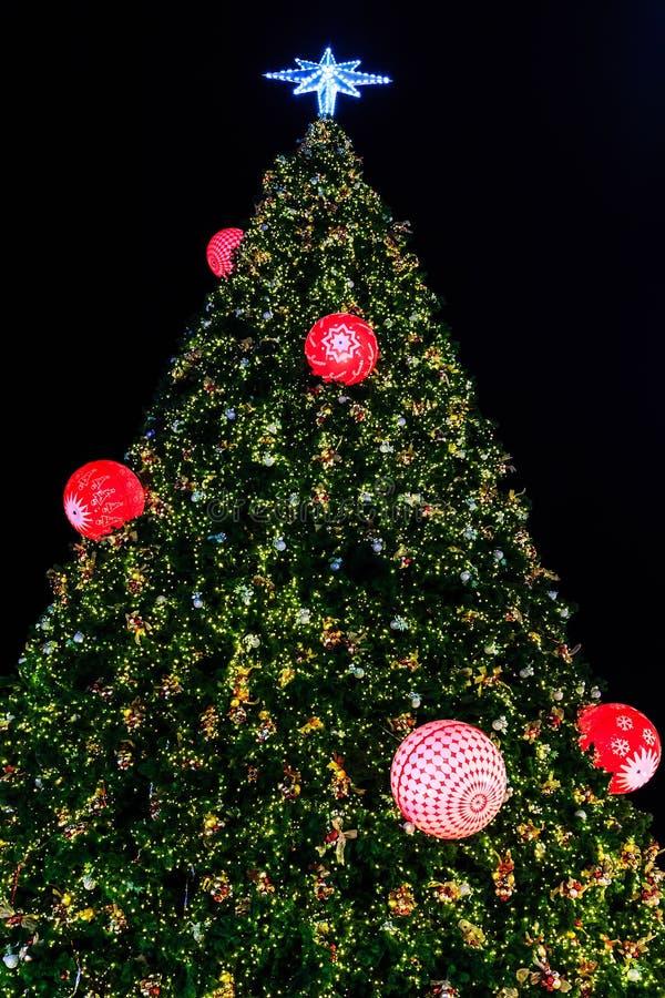 Funkeln-Weihnachtsbaum lizenzfreie stockbilder