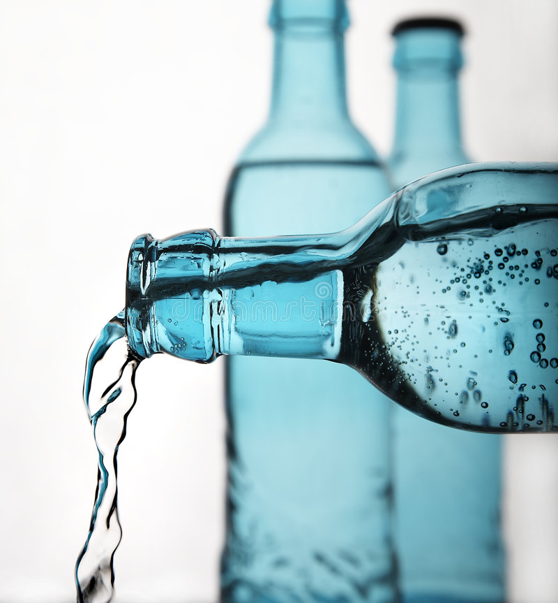 Funkelndes Wasser lizenzfreies stockbild