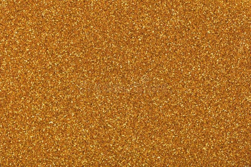 Funkelnhintergrund für Ihre persönliche kreative Arbeit, Beschaffenheit in stilvollem goldtone stockbild