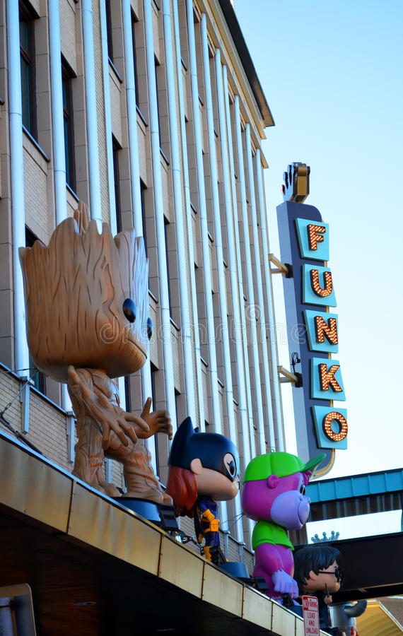 Funko-Speicher-Äußeres Everett Washington stockfotografie
