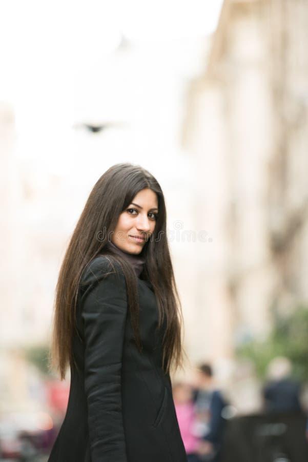 Funktionsduglig kvinna royaltyfri bild