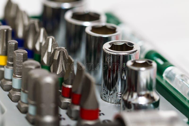 Funktionsdugliga hjälpmedel för metall, metallarbete arkivbilder