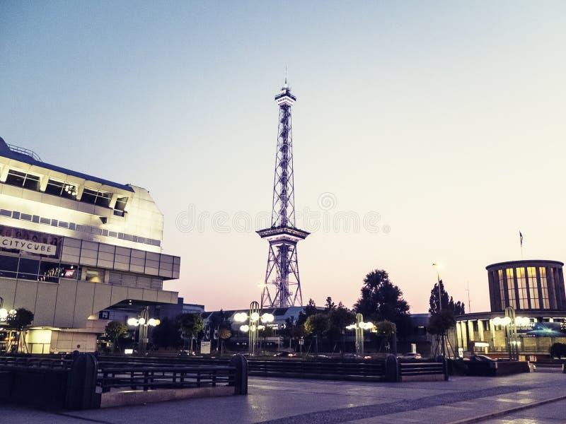 Funkturm στοκ φωτογραφία με δικαίωμα ελεύθερης χρήσης