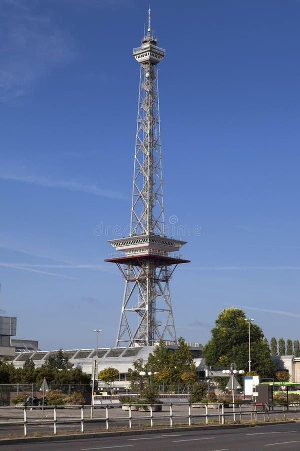 Funkturm Berliński Radiowy wierza obraz stock