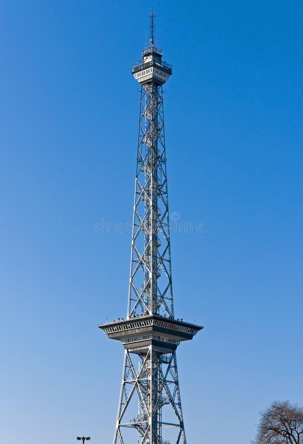 Funkturm in Berlijn stock afbeelding
