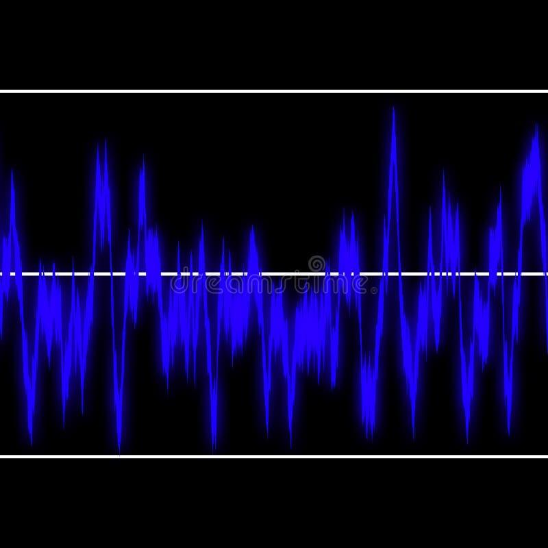 Funkwellen vektor abbildung