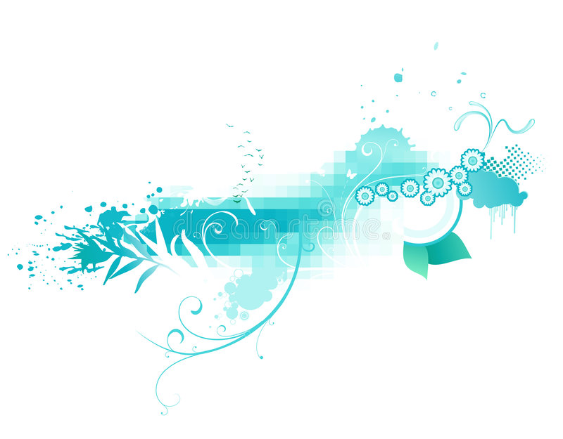 Download Funky abstract background stock vector. Image of graphic - 8671852