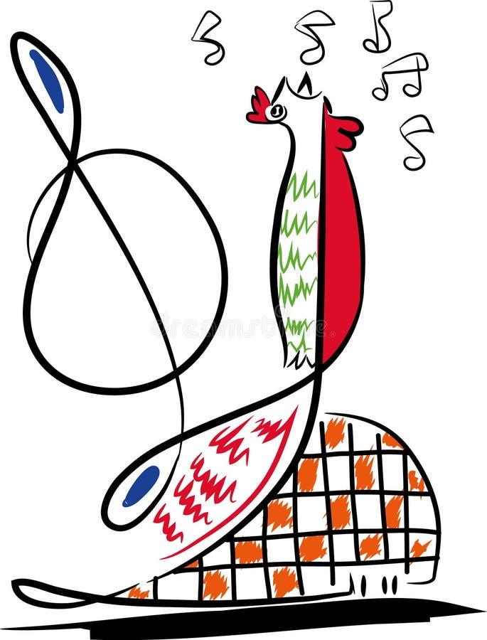 Download Funky Achtergrond Van De Muziek Vector Illustratie - Illustratie bestaande uit digitaal, musicus: 107707141