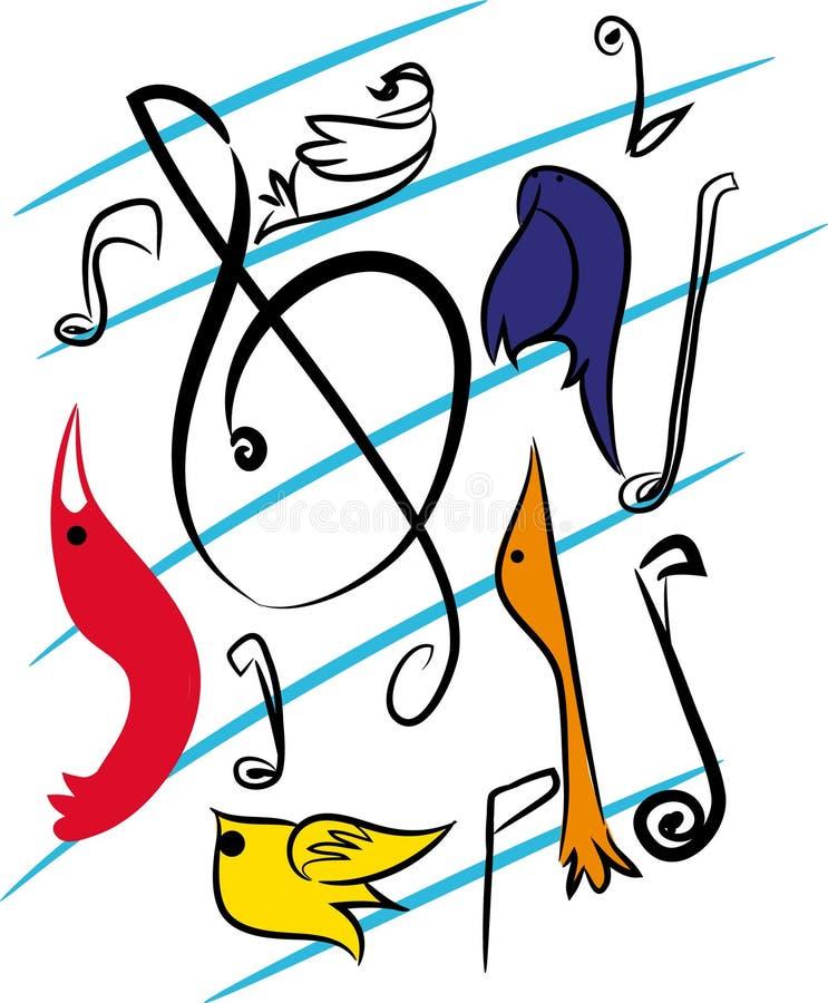 Download Funky Achtergrond Van De Muziek Vector Illustratie - Illustratie bestaande uit ontwerp, verschillend: 107708312