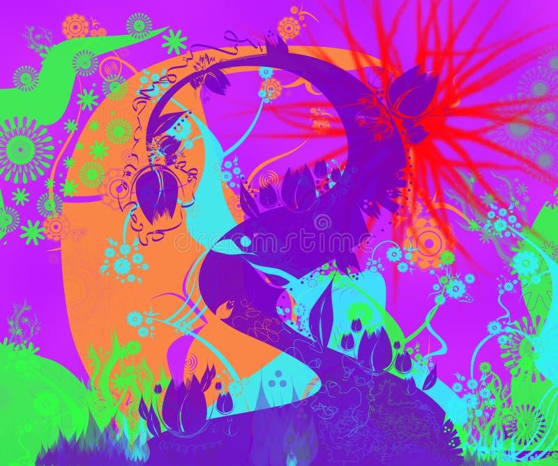 Funky Background vector illustration