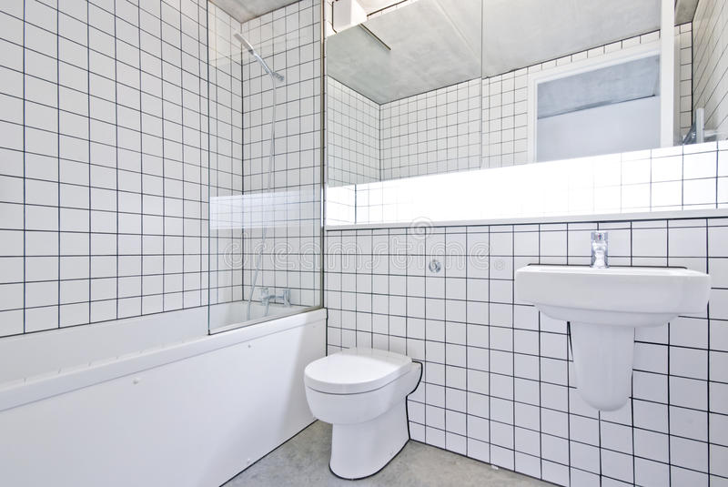 Attractive Download Funky Designer Bathroom In A Warehouse Conversion Stock Image    Image: 16817873