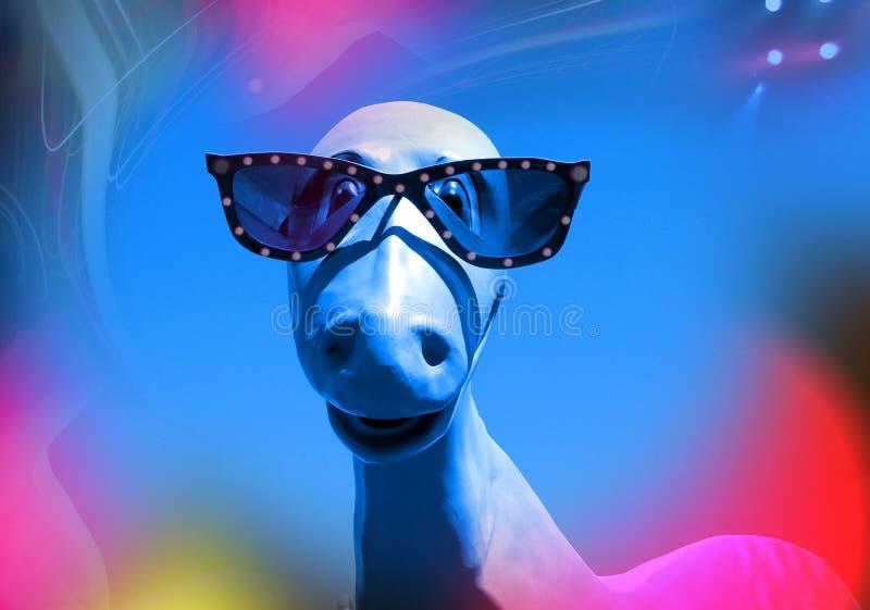 Download Funky dino stock image. Image of glasses, funky, speak - 4430059