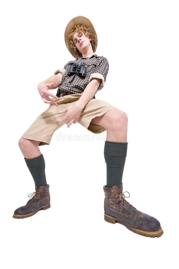 Download Funky jungle dude stock photo. Image of self, gangsta - 13285518