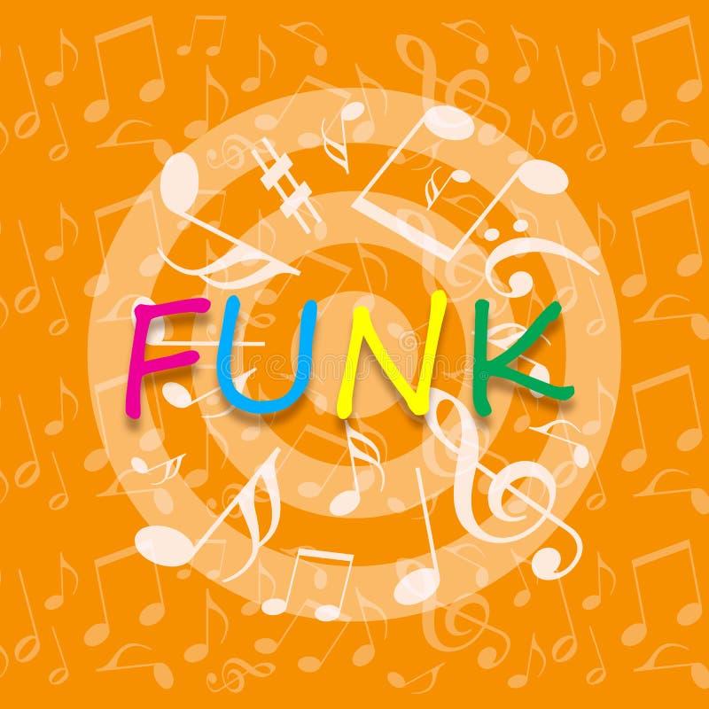 Funky music background stock illustration. Illustration of ...