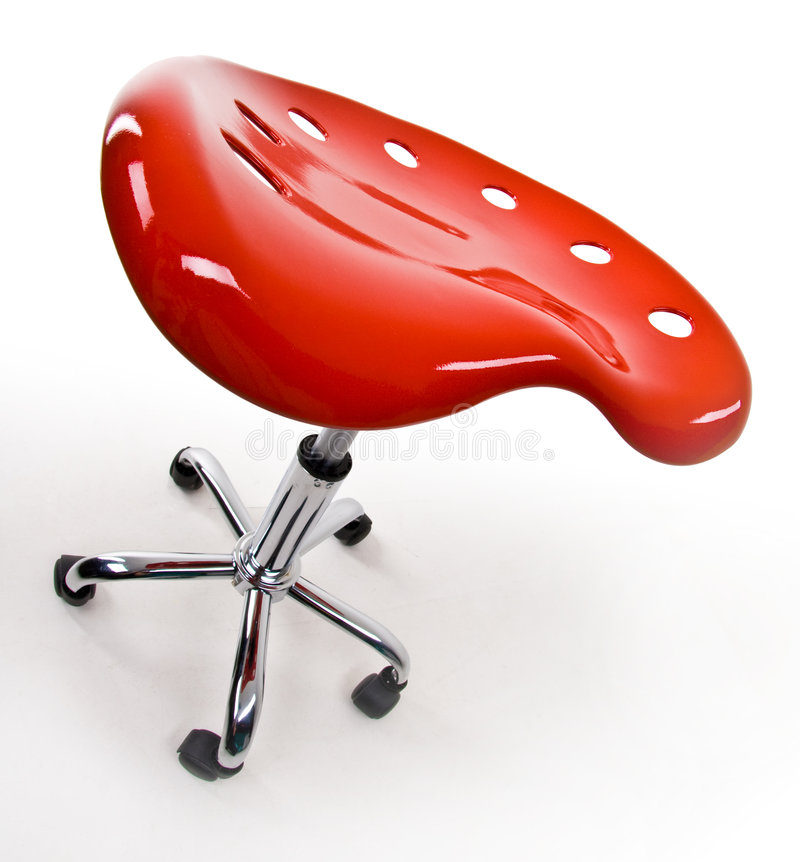 Funky Office Stool Royalty Free Stock Image