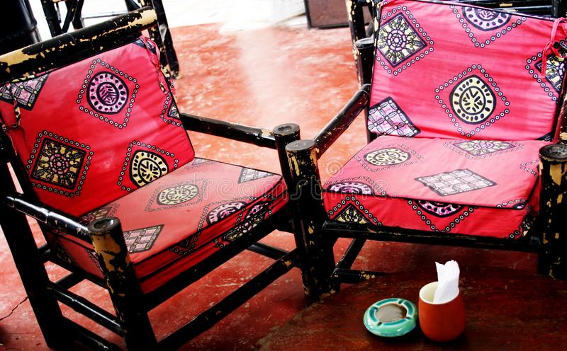 Download Funky old chairs stock photo. Image of comfort, diner, decoration - 814320