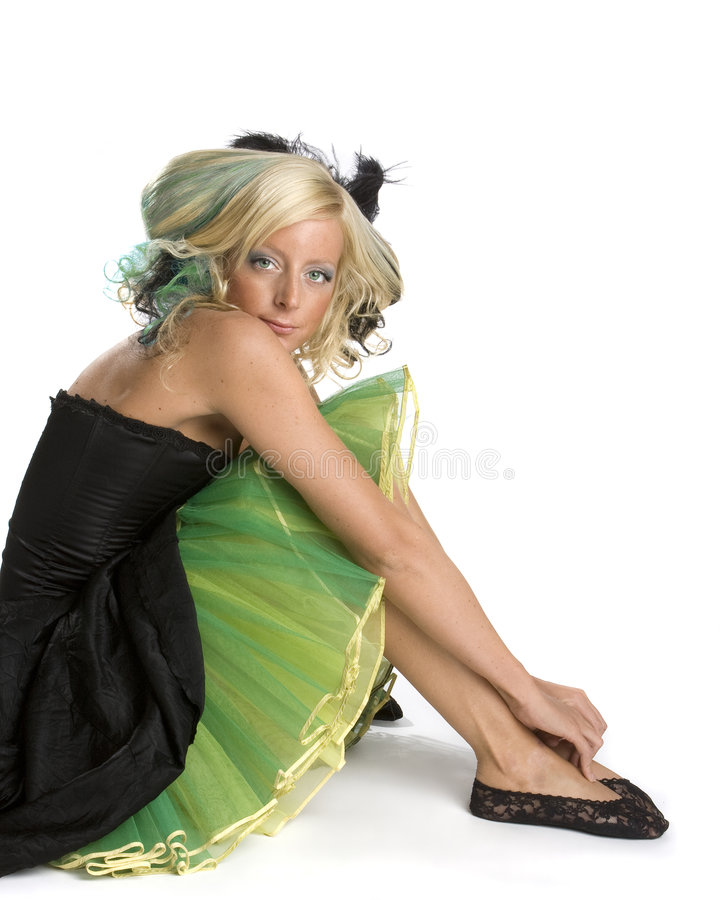 Download Funky Prom Girl Royalty Free Stock Image - Image: 5317966