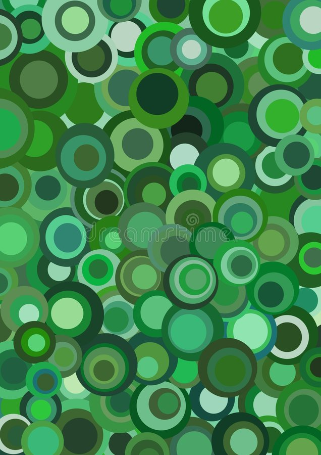 Funky retro green royalty free stock photos