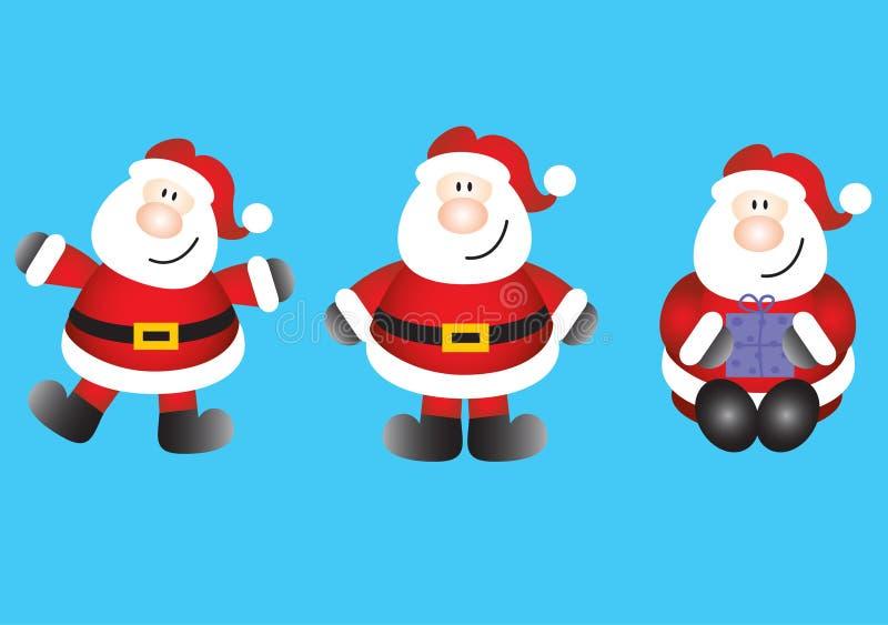 Download Funky santas stock illustration. Illustration of claus - 13261204