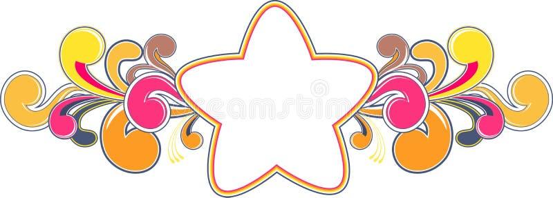 Download Funky star frame stock vector. Illustration of concept - 10075464