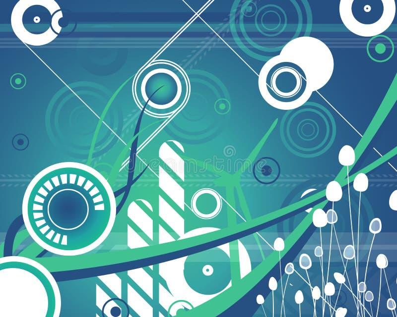 Funky stijl vector illustratie