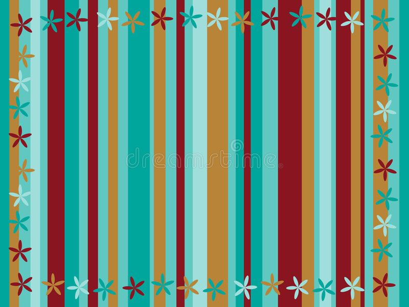 Funky Stripes royalty free illustration
