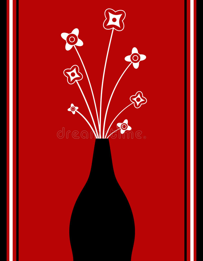 Download Funky vase stock illustration. Image of funky, stylish - 18136050
