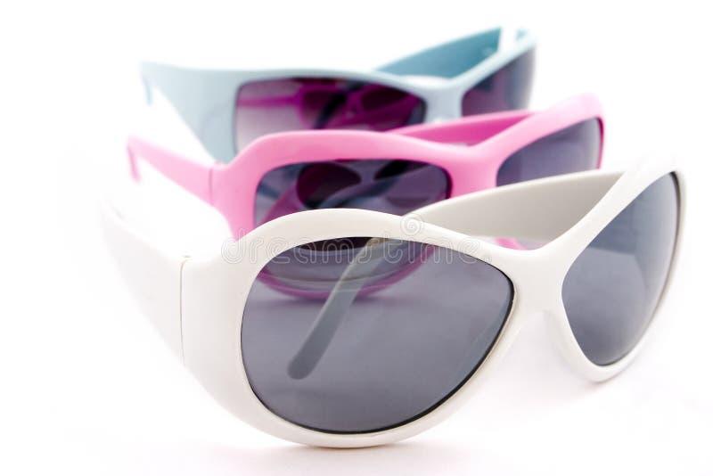 Funky zonnebril royalty-vrije stock afbeelding