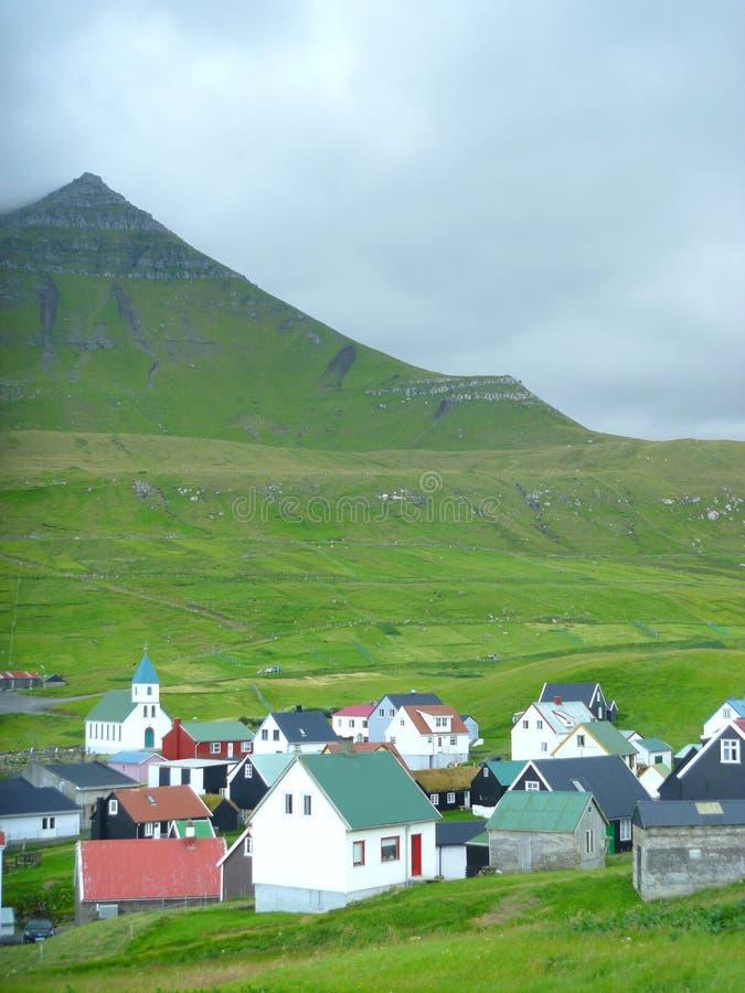 Funnigur - de Faeröer royalty-vrije stock fotografie