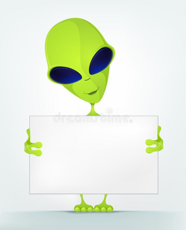 Download Funny Alien stock vector. Image of illustration, business - 28031646