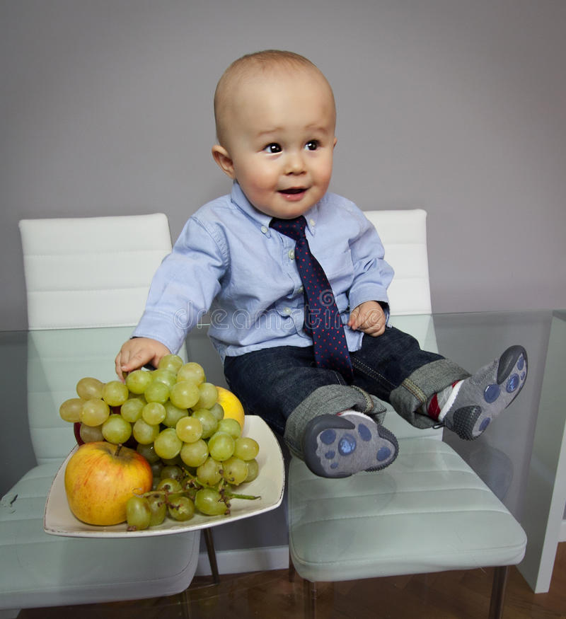 Download Funny Baby Boy Face Expression  Portrait Stock Photography - Image: 27567132
