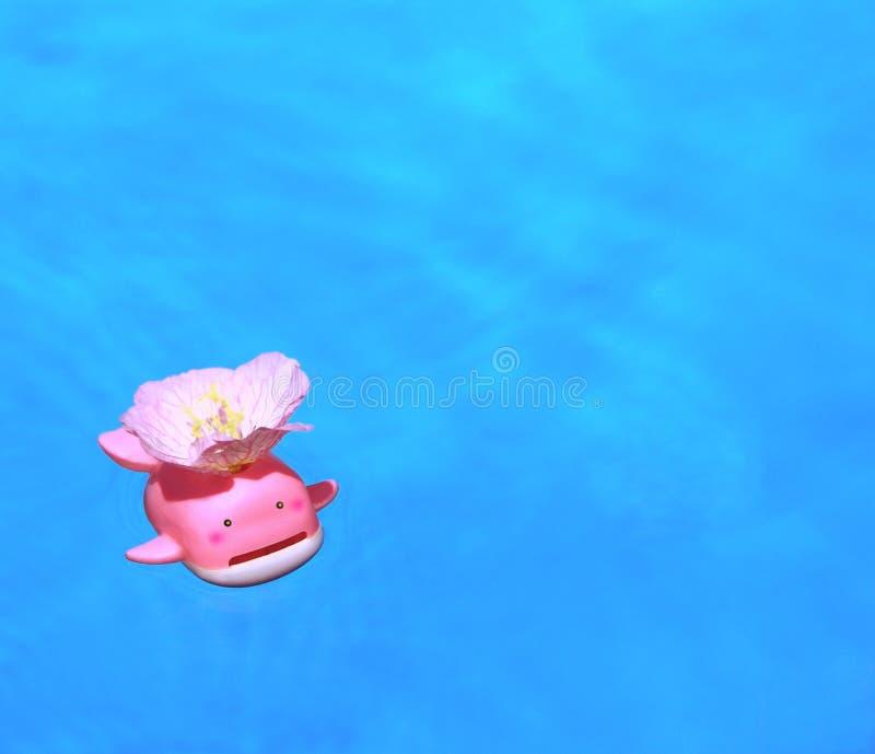 Funny bath. royalty free stock image