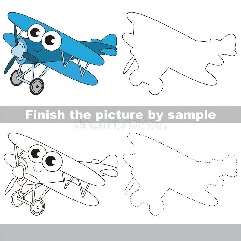 Biplane Drawing Stock Illustrations 609 Biplane Drawing Stock
