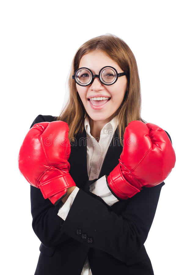 Download Funny boxer stock image. Image of business, background - 34468819