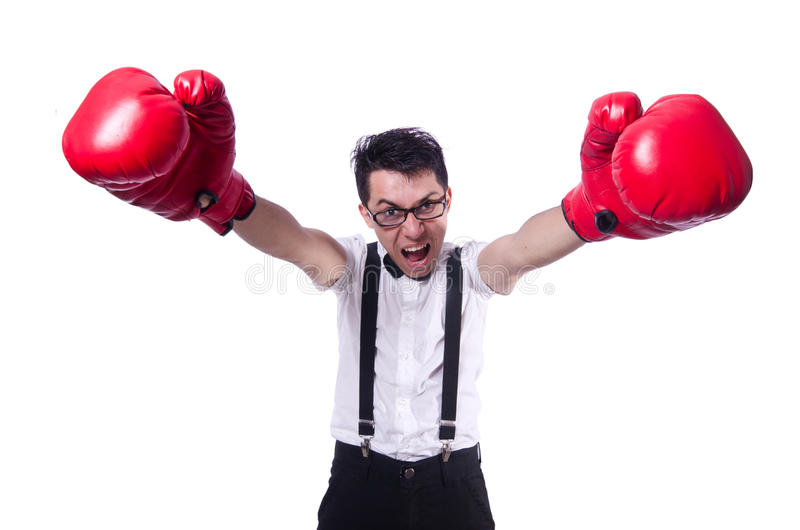 Download Funny boxer stock photo. Image of humor, humorous, face - 30662224