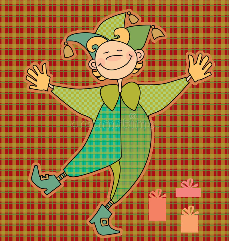 Download Funny boy stock vector. Illustration of patchwork, clown - 23445602