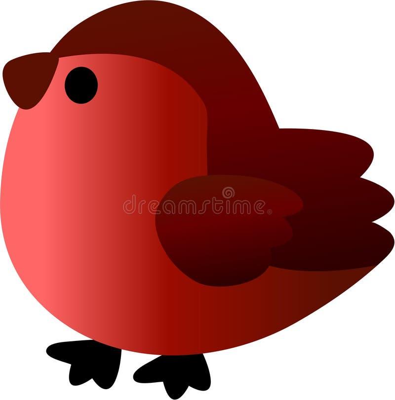 Funny Bullfinch - Vector Illustration Stock Photos
