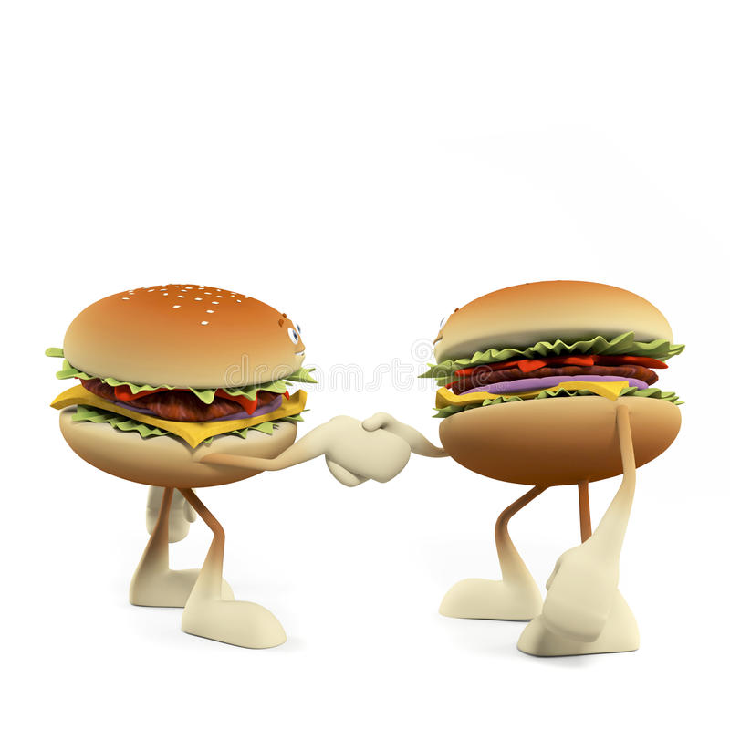 Download Funny Burger Stock Images - Image: 25373314